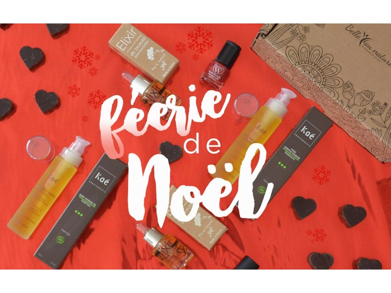 Box bio BelleauNaturel Décembre 2017