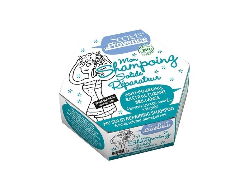 Shampoing Solide réparateur bio Secret d Provence