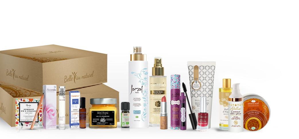 Belleaunaturel votre box beaut et bien tre 100 bio belle au naturel - Meilleures box beaute ...